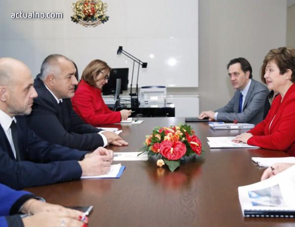 photo of Борисов представи приоритетите на Западните Балкани пред Кристалина Георгиева