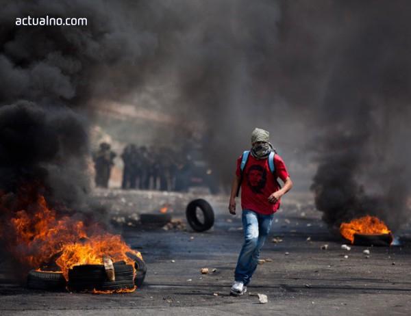photo of Десетки палестинци са ранени при сблъсъците на Западния бляг