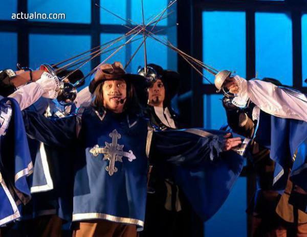 """photo of Мюзикълът """"Тримата мускетари""""  завладява зала 1 на НДК"""