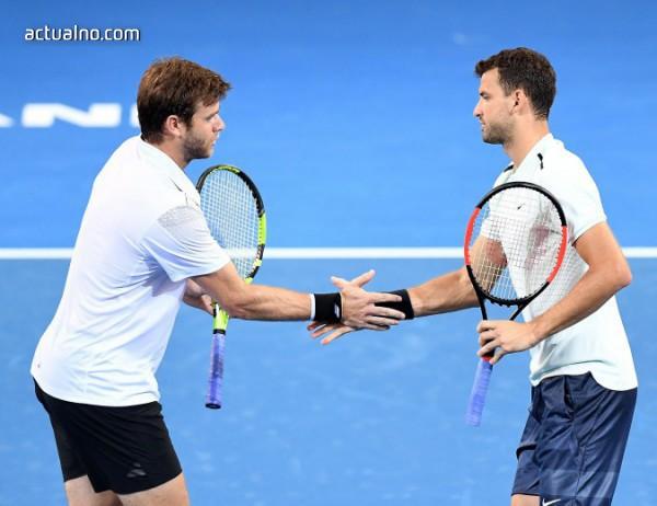 photo of Гришо и Харисън стигнаха полуфиналите на двойки в Бризбън