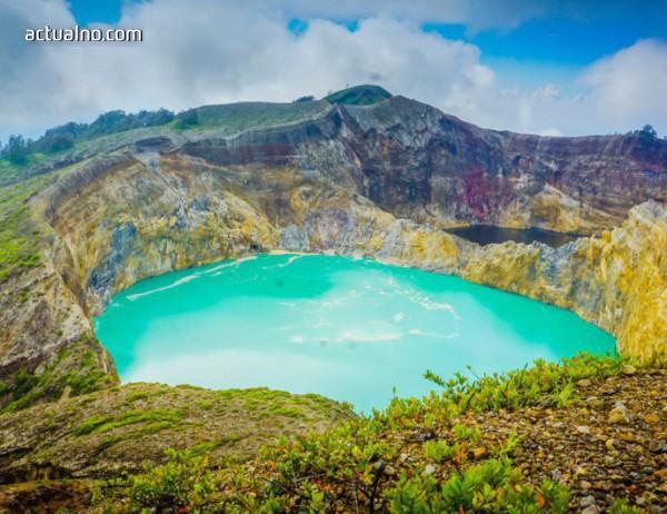 """photo of Mагията на природата: Вулканът """"Кели Муту"""""""
