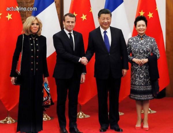 photo of Макрон призова към европейско единство срещу изгряващия Китай