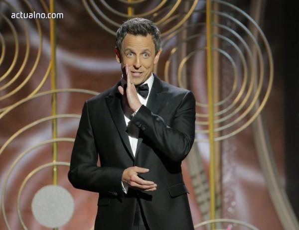 """photo of Бруталната реч на водещия на """"Златен глобус"""" Сет Майърс (ВИДЕО)"""
