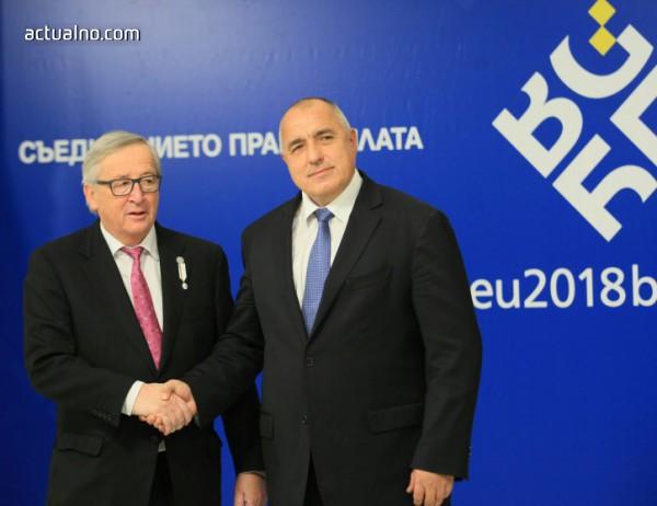 photo of Борисов и Юнкер се обединиха около Западните Балкани като приоритет