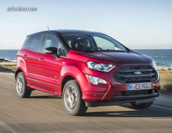 photo of Ford EcoSport: И майка му няма да го познае (тест-драйв)