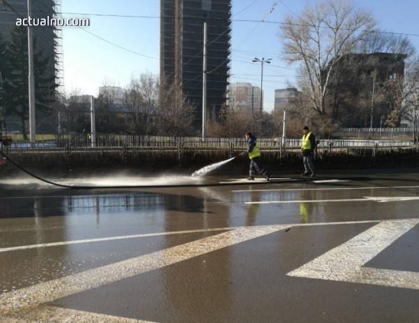 photo of Продължава миенето на софийските улици и булеварди