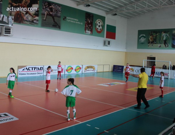 photo of Община Тетевен бе домакин на футболен турнир в зала за момичета