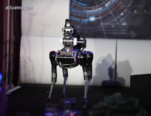 photo of Куче-робот отваря врати (ВИДЕО)