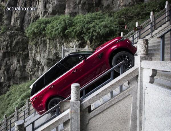 photo of Хибридният Range Rover Sport изкачи Вратата към Рая (ВИДЕО)
