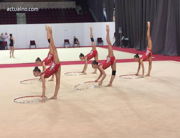 photo of Гимнастичките ни спечелиха злато в Москва