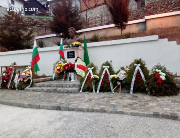 photo of Откриха паметник на Левски в с. Малево, Чепеларе