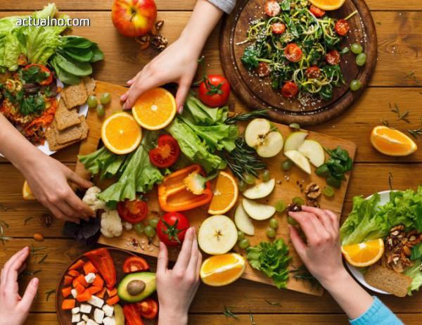 Консумирането на зеленчуци и плодове трябва да е 2:1