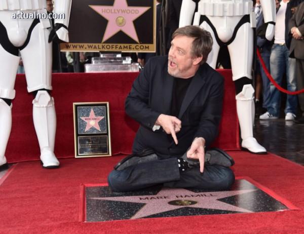 photo of Люк Скайуокър вече има звезда на славата