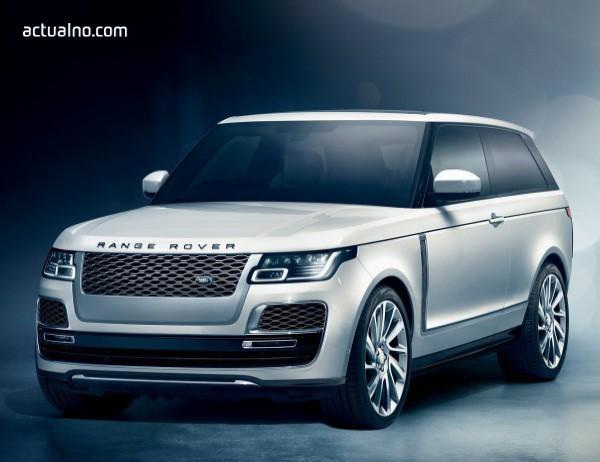 photo of Тривратият Range Rover SV Coupe задмина Bentley Bentayga