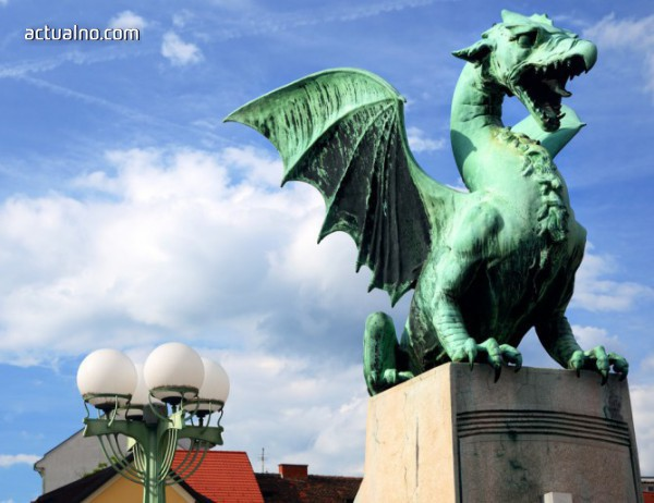 photo of Драконовият мост в Любляна