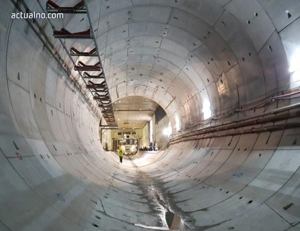 photo of До 2019 г. ще бъде пуснат първият етап на третата линия на столичното метро