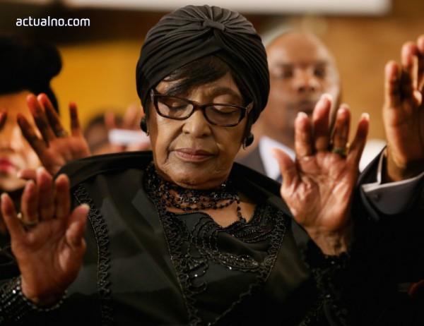 photo of Почина активистката и бивша съпруга на Нелсън Мандела - Уини Мандела