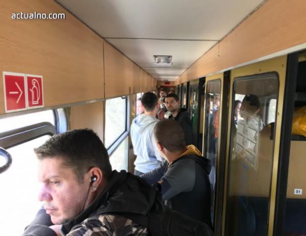 """photo of """"Без паника"""" в претъпкания влак Варна - София: Всички ще могат да скочат"""