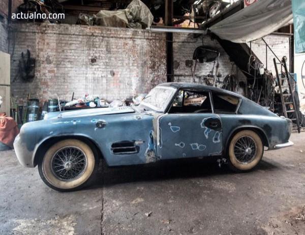 photo of Откриха много рядък Jaguar в белгийски гараж