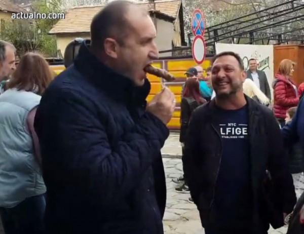 photo of Actualno.com пита: Провери ли НСО кебапчето, което президентът яде в Трявна? (ВИДЕО)