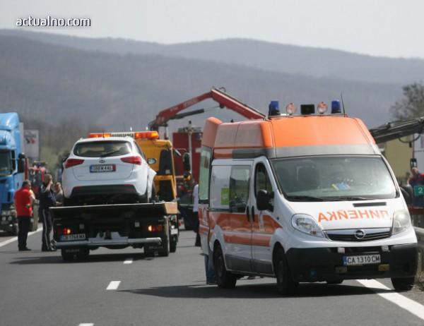 """photo of Всички настанени в """"Св. Анна"""" след катастрофата край Вакарел са без пряка опасност за живота"""