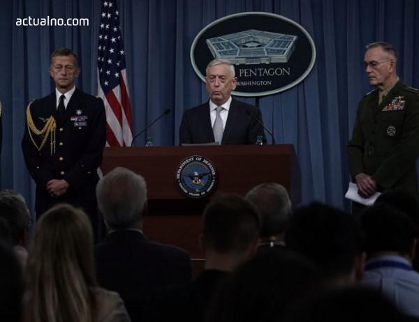 photo of Пентагонът: Зададените цели в Сирия са унищожени