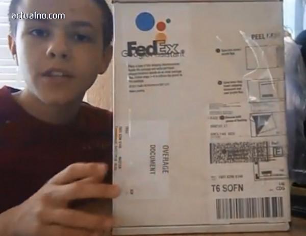 photo of 12-годишен ученик от Барутин с награда от Google
