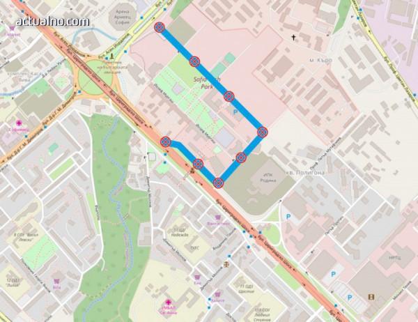 photo of Ето къде са временните ограничения за движение в столицата на 15, 16 и 17 май (СНИМКА)