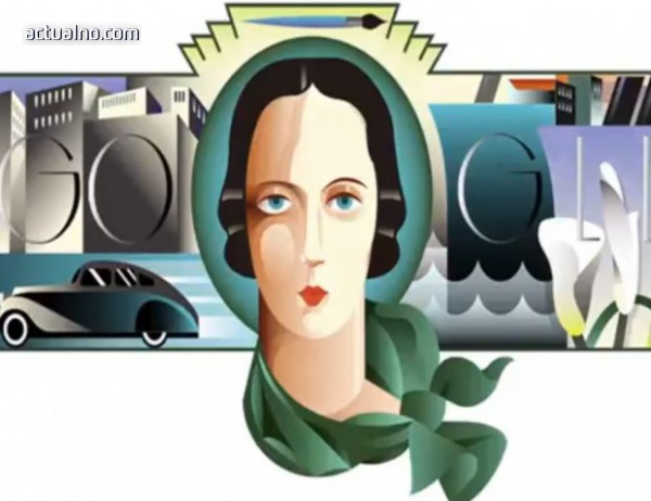 photo of Google почете полската художничка Тамара де Лемпицка (ВИДЕО)