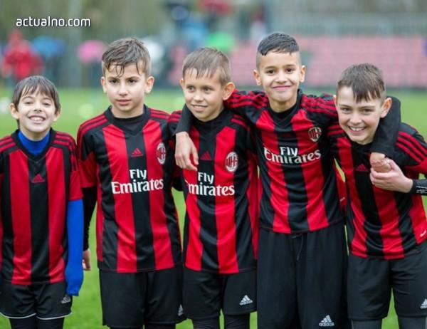 photo of Когато талантът срещне спорта: Milan Academy Junior Camp