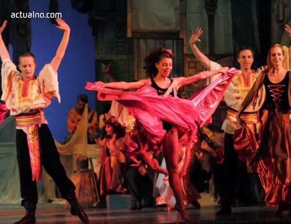 photo of Опера и балет на открито в парка на Военната академия (ВИДЕО)