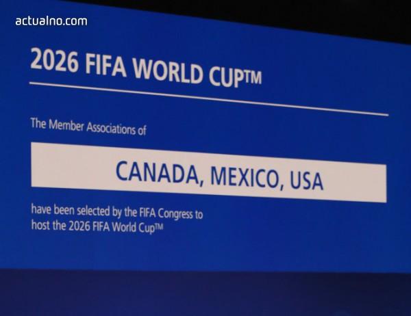 photo of За първи път три държави ще домакинстват Световното по футбол през 2026 г.