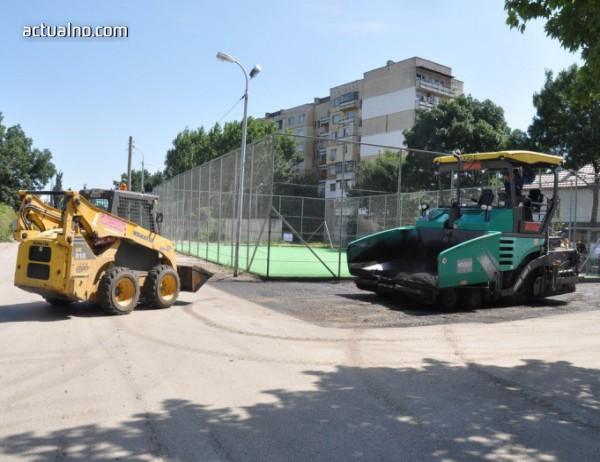 """photo of Община Видин асфалтира около новите площадки в комплекс """"Строител"""""""