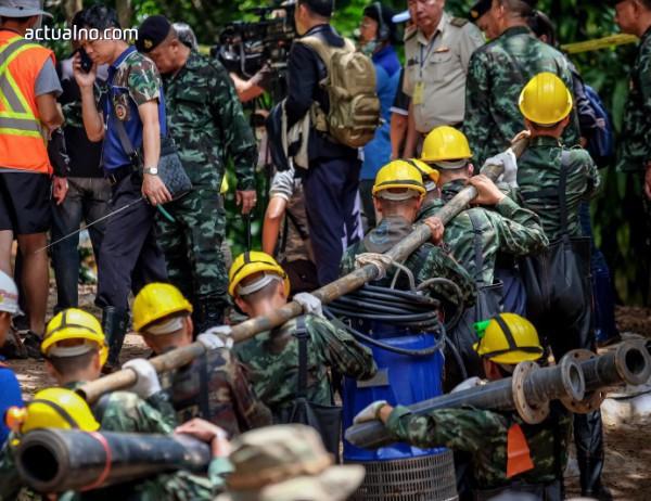 photo of Вижте видео със спасените тайландски момчета