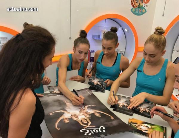 photo of Златните ни момичета откриха лятото с раздаване на автографи във Варна (ВИДЕО)