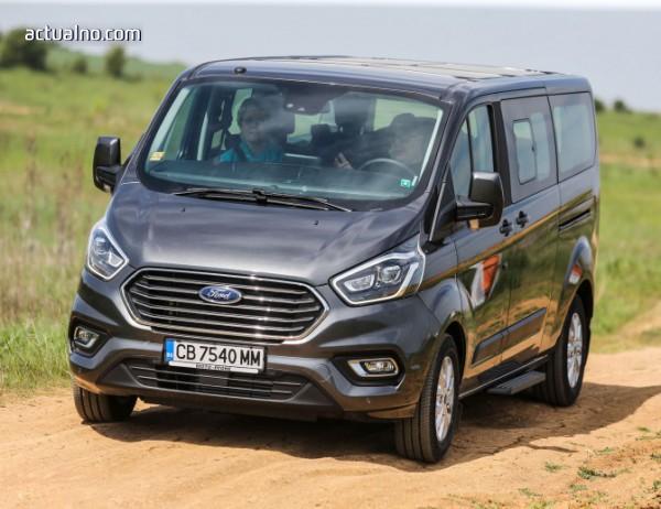 photo of С този ван ще отидете заедно навсякъде - Ford Tourneo Custom (тест-драйв)