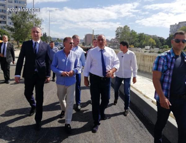 photo of Борисов направи нова пътна инспекция - този път във Варна