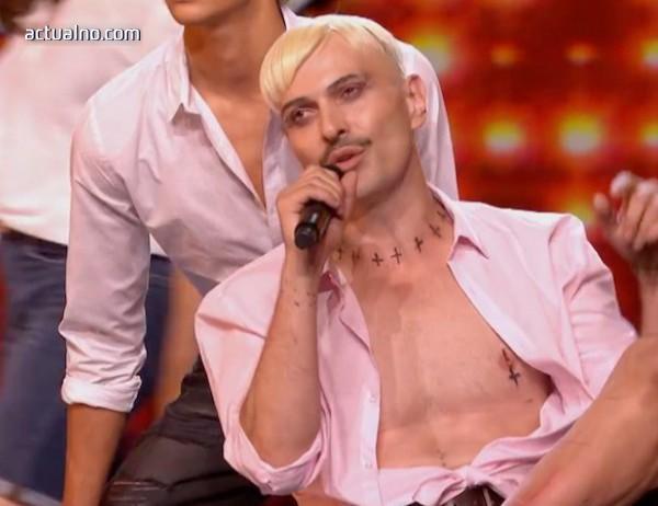 photo of Скандалният артист Иво Димчев изуми съдиите в британския X Factor