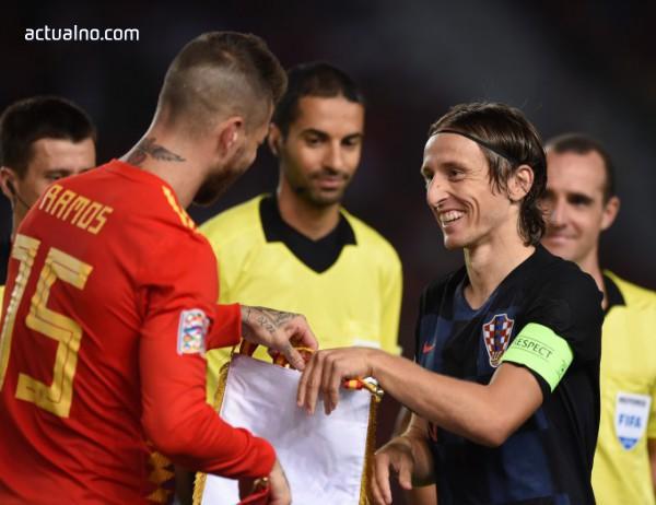 photo of Испания прегази Хърватия в турнира Лига на нациите