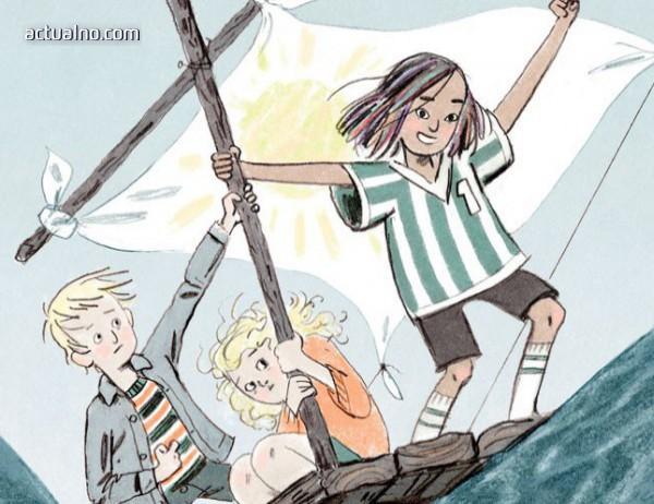 """photo of """"Вратарката и морето"""" е роман за деца от всички възрасти"""