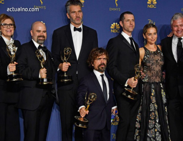 """photo of Обявиха носителите на наградите """"Еми"""""""