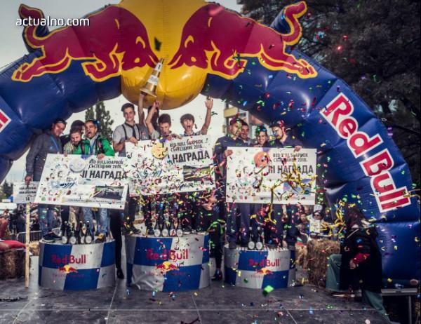 photo of 49 щури Отбора участваха в безмоторното състезание Red Bull Soapbox тази неделя в София