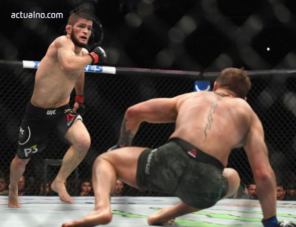 photo of ВИДЕО показа как Макгрегър бие брата на Нурмагомедов