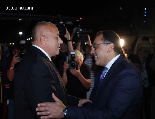 photo of Бойко Борисов пристигна на официално посещение в Египет