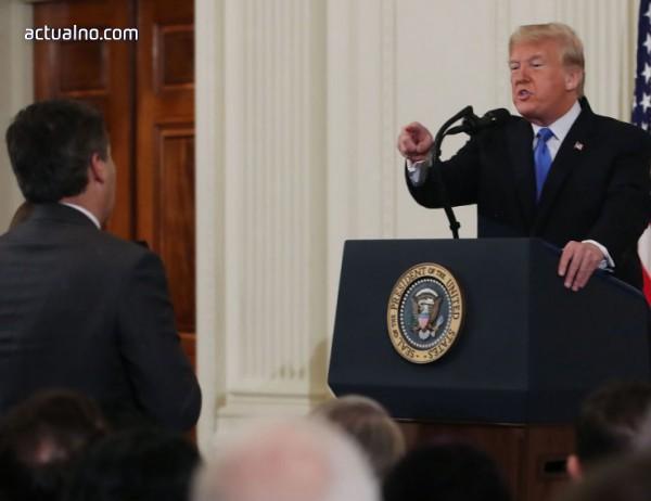 photo of Тръмп спретна страхотен скандал със CNN в Белия дом (ВИДЕО)