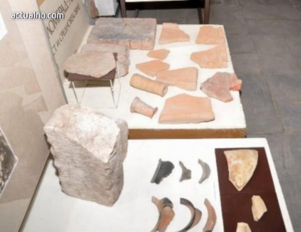 Представиха пред ломчани нови артефакти от античния Алмус