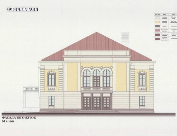 """Община Видин възложи реставрация и консервация на 120-годишния театър """"Вида"""""""