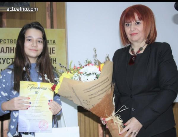 """Раздадоха наградите в конкурса за детска рисунка """"Наследници на Дечко Узунов"""""""