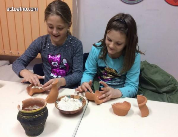 В Кюстендил се проведе работилница за деца на тема културата на хранене в древността